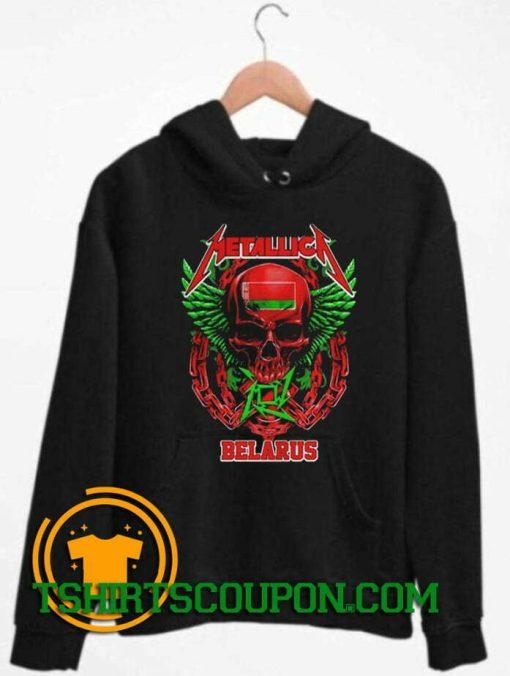 Metallica Belarus hoodie Unique trends tees Hoodie