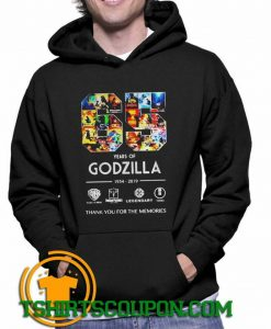 65 years of Godzilla thank you for the memories Hoodie
