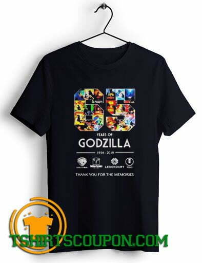 65 years of Godzilla thank you for the memories Unique trends tees shirts
