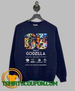 65 years of Godzilla Sweatshirt