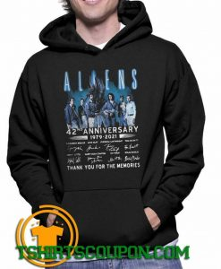 Aliens 42nd Anniversary 1979 2021 Thank You Hoodie