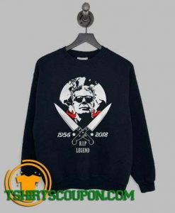 Anthony Bourdain 1956 2018 Sweatshirt By Tshirtscoupon.com