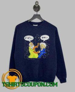 Archimedes Albert Einstein Sweatshirt