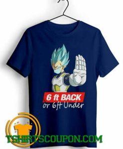 Saga Dragon Ball Super 6Ft Back Unique trends T-Shirt