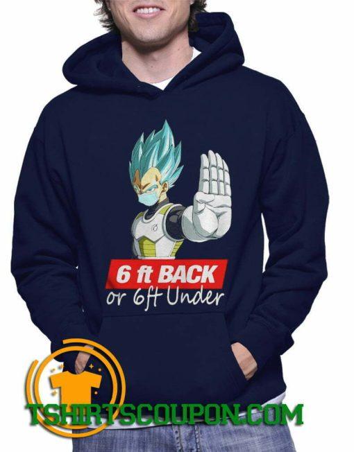 Saga Dragon Ball Super 6Ft Back Hoodie