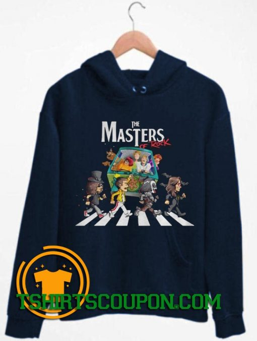 Scooby Doo The Masters Of Rock Hoodie By Tshirtscoupon.com
