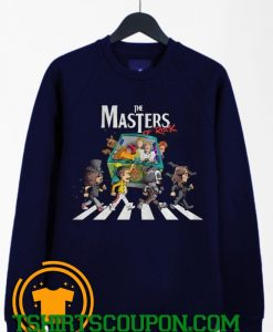 Scooby Doo The Masters Of Rock Sweatshirt By Tshirtscoupon.com