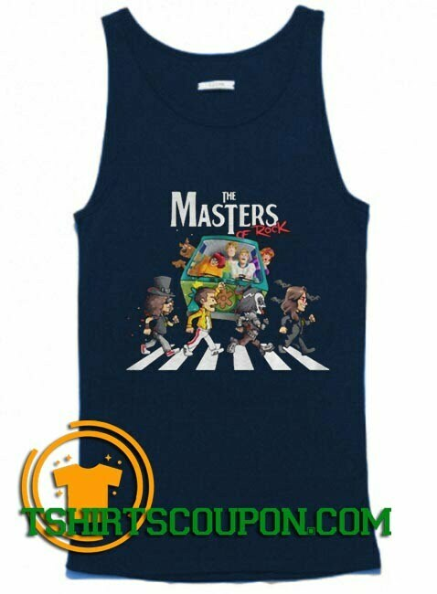 Scooby Doo The Masters Of Rock Tank Top By Tshirtscoupon.com