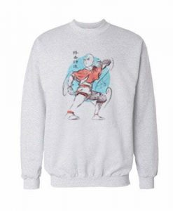 The-Last-Airbender-Aang Sweatshirt-For-Men-and-Women-S-3XL
