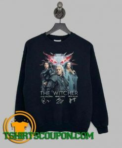 The Witcher Anya Chalotra Henry Cavill Freya Sweatshirt