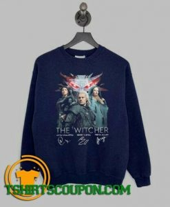 The Witcher Anya Chalotra Henry Cavill Freya Sweatshirt