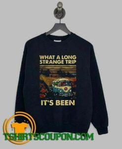 What A Long Strange Trip Its Been Dead Bears Sweatshirt