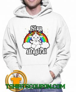 LGBT Satan Baphomet Stay Magical Hoodie By Tshirtscoupon.com