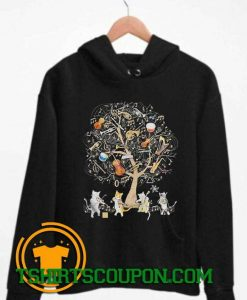 Cats Playing Music Unique trends tees Hoodie