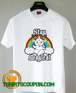 LGBT Satan Baphomet Stay Magical Unique trends tees shirts