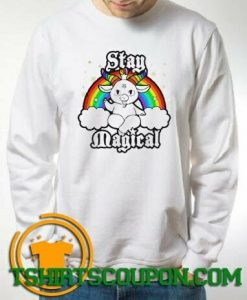 LGBT Satan Baphomet Stay Magical Sweatshirt By Tshirtscoupon.com