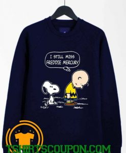 Charlie Brown And Snoopy Saying That Miss Sweatshirt