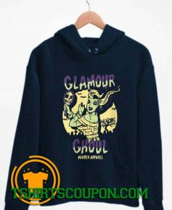 Glamour Ghoul Vintage Halloween Monster Hoodie By Tshirtscoupon.com