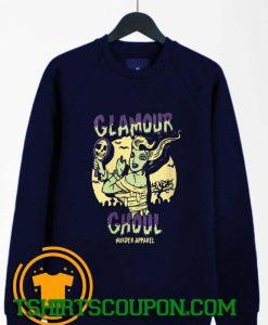 Glamour Ghoul Vintage Halloween Monster Sweatshirt