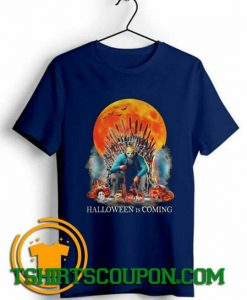 H2O Delirious Jason Voorhees Halloween is coming shirts