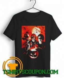 Halloween Movie Characters Freddy Jason Michael shirts