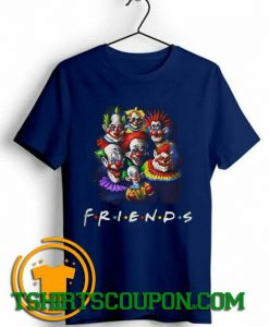 Halloween Scary Clowns Drawing Friends Unique trends tees shirts