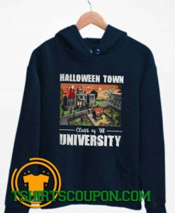 Halloween Town Class Of 98 University Hoodie By Tshirtscoupon.com