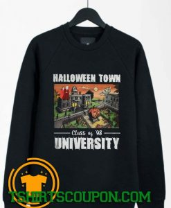 Halloween Town Class Of 98 University Sweatshirt By Tshirtscoupon.com