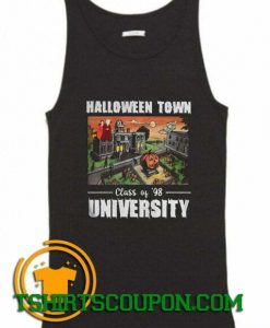 Halloween Town Class Of 98 University Tank Top By Tshirtscoupon.com