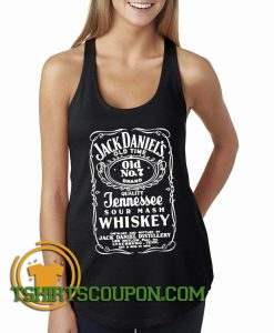 JACK DANIELS Print Tank Top By Tshirtscoupon.com