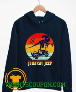 Jurassic Jeep Vintage Halloween 2020 Hoodie By Tshirtscoupon.com