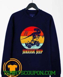 Jurassic Jeep Vintage Halloween 2020 Sweatshirt By Tshirtscoupon.com