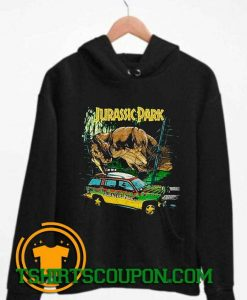 Jurassic Park Vintage 90s Hoodie By Tshirtscoupon.com