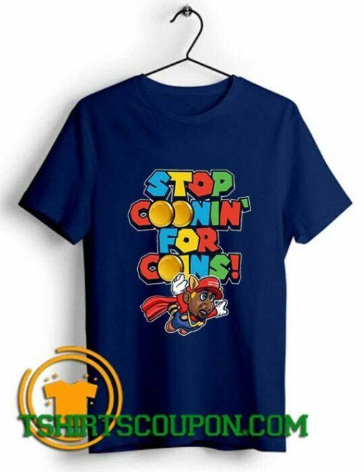 Super Mario Bros shirts