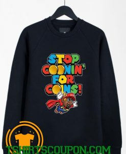 The Action Coonin Super Mario Bros Sweatshirt By Tshirtscoupon.com