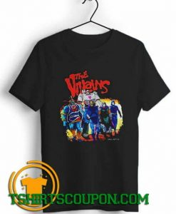The Villains Comics Angel Rotten Unique trends tees shirts