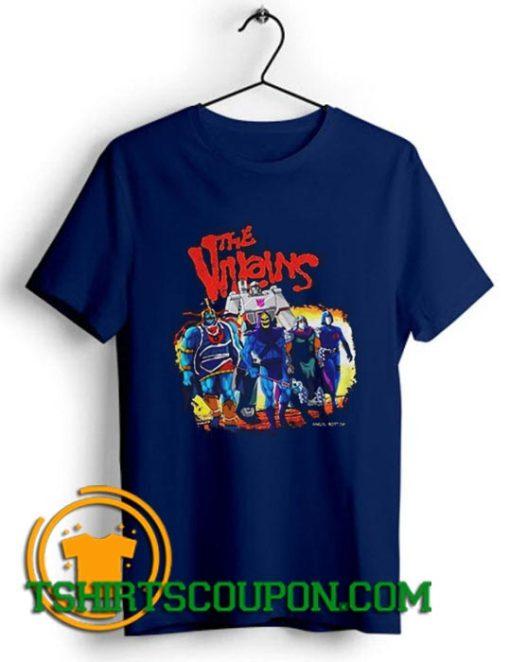 The Villains Comics Angel Rotten Unique trends tees shirts