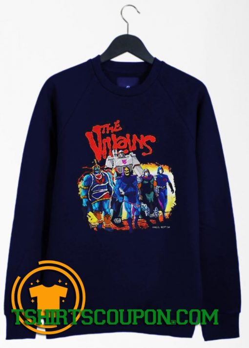 The Villains Comics Angel Rotten Sweatshirt By Tshirtscoupon.com