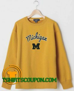 Women's Maize Michigan Sweatshirt By Tshirtscoupon.com