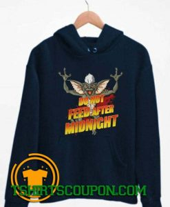 Do Not Feed After Midnight Gremlins Bat Hoodie By Tshirtscoupon.com