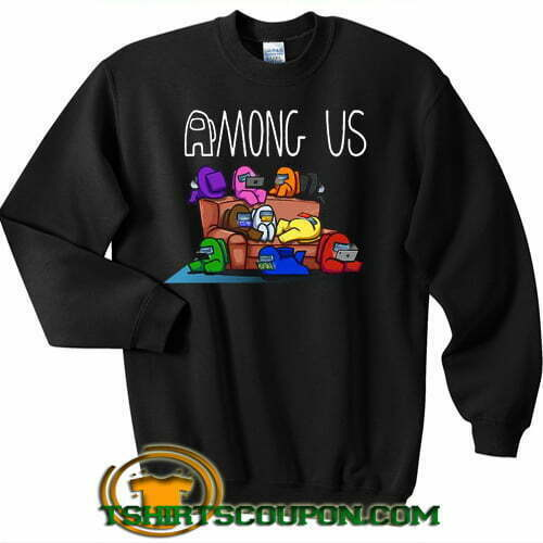 Among Us Friends Couch Sweatshirt